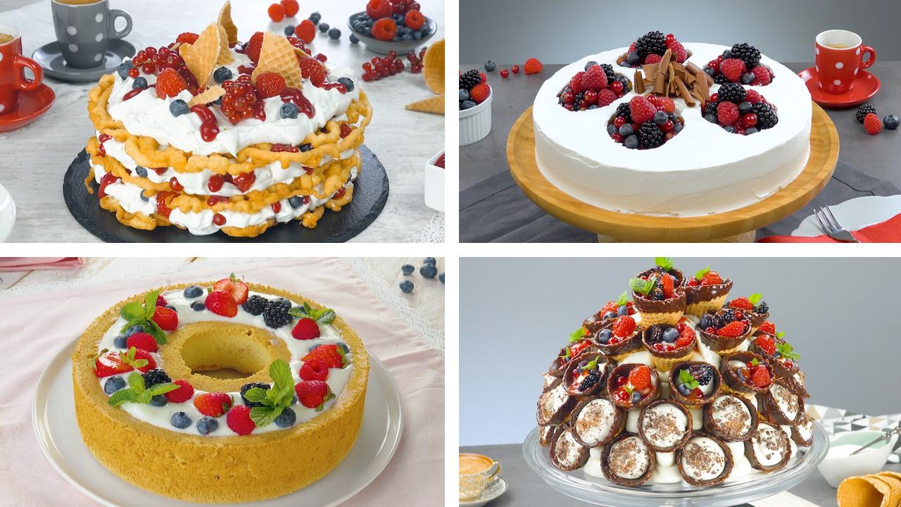 5 sensationelle Beerenkuchen | Kuchenrezepte mit Beeren